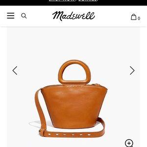 Madewell crossbody leather purse